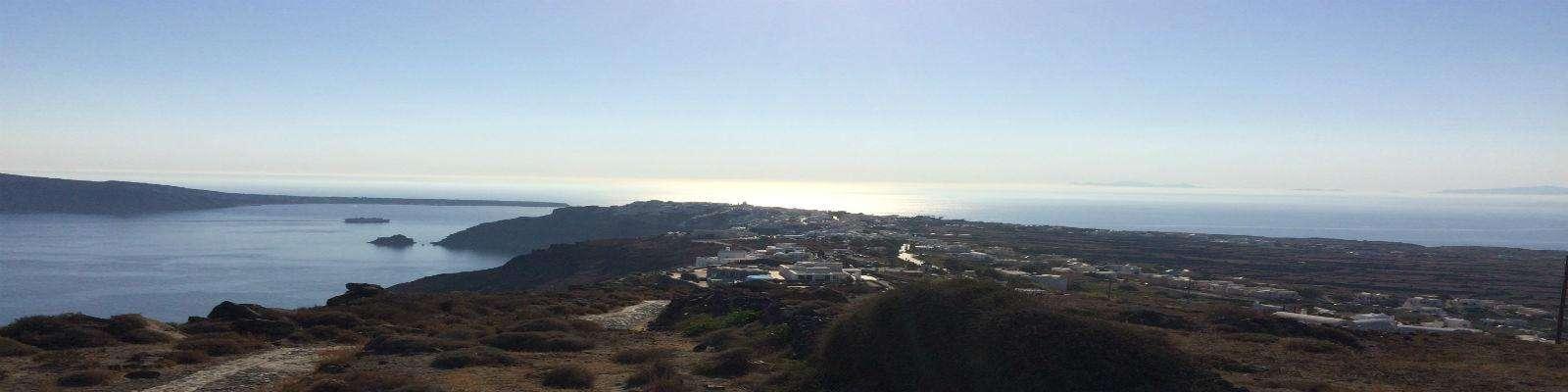 Auto huren Santorini Fira-Oia